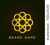 photos golden metallic logo