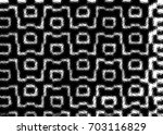 grunge halftone black and white.... | Shutterstock . vector #703116829