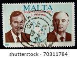 Malta   Circa 1989  A Stamp...