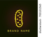 cucumber golden metallic logo