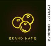 olives golden metallic logo