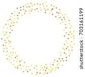 golden tinsel texture on a... | Shutterstock .eps vector #703161199