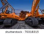 Bulldozers In Town