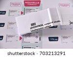 marseille  france   august 23 ... | Shutterstock . vector #703213291