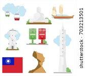 Vector Illustration Taiwan...