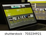 milan  italy   august 10  2017  ...   Shutterstock . vector #703234921