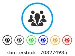 staff vector rounded icon.... | Shutterstock .eps vector #703274935