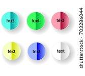 elements of design. set of...   Shutterstock .eps vector #703286044