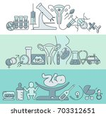 banner template with different  ... | Shutterstock . vector #703312651