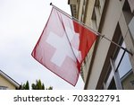 building decoration by swiss... | Shutterstock . vector #703322791