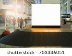 beauty  full blank advertising...   Shutterstock . vector #703336051