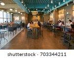 busan  south korea   circa may  ... | Shutterstock . vector #703344211