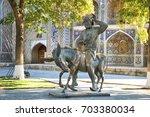 bukhara  uzbekistan   october... | Shutterstock . vector #703380034