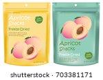 apricot packaging design vector   Shutterstock .eps vector #703381171