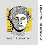 creative modern classical... | Shutterstock .eps vector #703389055