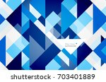 triangle pattern design... | Shutterstock .eps vector #703401889