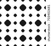 polka dot seamless pattern ... | Shutterstock . vector #703402681