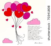 illustration of cute... | Shutterstock . vector #70341808