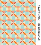 seamless texture with colored... | Shutterstock . vector #703432957