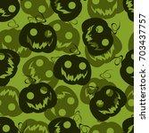 seamless pattern background... | Shutterstock .eps vector #703437757