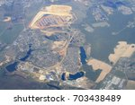 aerial view   western russia at ... | Shutterstock . vector #703438489
