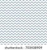 seamless pattern wave curly zig ... | Shutterstock .eps vector #703438909
