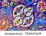 mosaic tiles mosaic | Shutterstock . vector #703447639