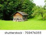 masescha  liechtenstein  17 aug ... | Shutterstock . vector #703476355