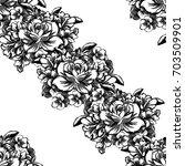 abstract elegance seamless...   Shutterstock .eps vector #703509901