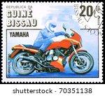 guinea bissau   circa 1985  a...   Shutterstock . vector #70351138