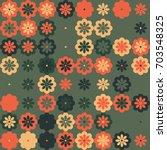 geometric pattern design  | Shutterstock .eps vector #703548325