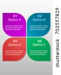 option info graphics business... | Shutterstock .eps vector #703557829