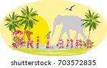 sri lanka tourism  vacation ...   Shutterstock .eps vector #703572835