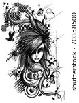 fashion  | Shutterstock . vector #70358500