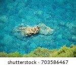turquoise water | Shutterstock . vector #703586467