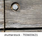 Wood Pier With Single Bolt ...