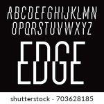 dynamic vector font. trendy...