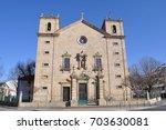 church  old church  antique... | Shutterstock . vector #703630081