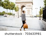 lifestyle portrait of a young... | Shutterstock . vector #703633981
