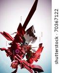 3d futuristic element | Shutterstock . vector #70367122