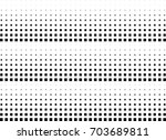 abstract halftone dotted...   Shutterstock .eps vector #703689811