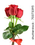 Stock photo bouquet of red roses 70373395