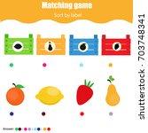 educational children game.... | Shutterstock .eps vector #703748341