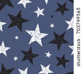 seamless pattern with...   Shutterstock .eps vector #703749565