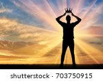concept of narcissism and... | Shutterstock . vector #703750915