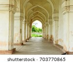 gallery of qutub shahi tomb ... | Shutterstock . vector #703770865