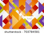 triangle pattern design... | Shutterstock .eps vector #703784581
