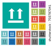 side up sign multi colored flat ... | Shutterstock .eps vector #703787041
