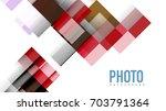 business presentation geometric ... | Shutterstock . vector #703791364