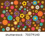 a background pattern inspired... | Shutterstock .eps vector #70379140